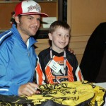 Chad Reed with Inside Line Winner in Toronto