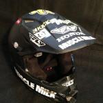 Signed Trey Canard helmet