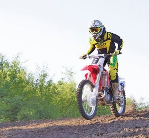 Marcus Storm Loved Motocross