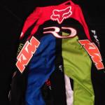 Fox Race Pants Worn and Autographed by Ryan Dungey -- 3rd place Prize for 2015 Jackpot Challenge